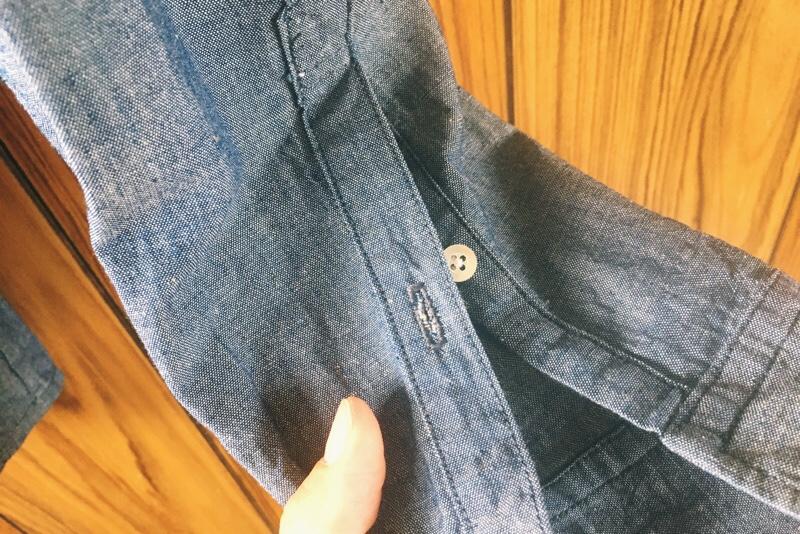 ハンドメイドシャツ,袖口短冊あき,綺麗に仕上げる方法