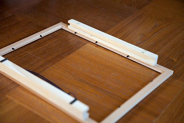 紙芝居の枠作り方1