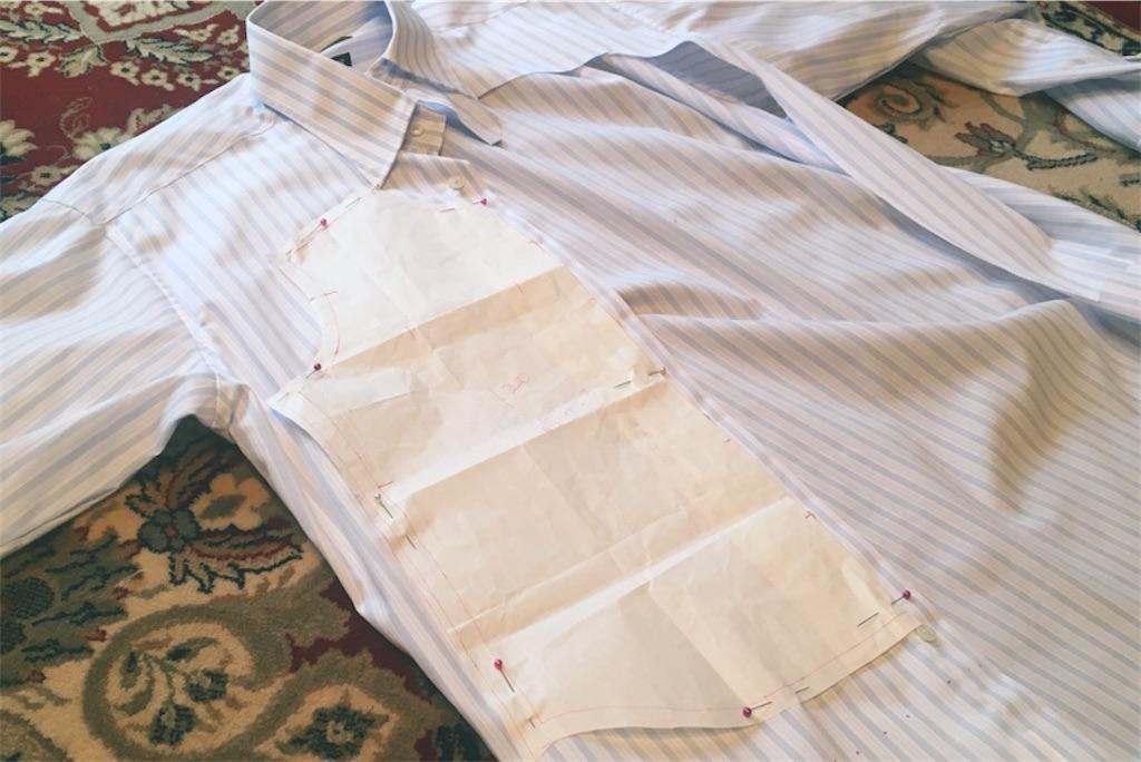 ビジネスシャツ,リメイク,子供用シャツ