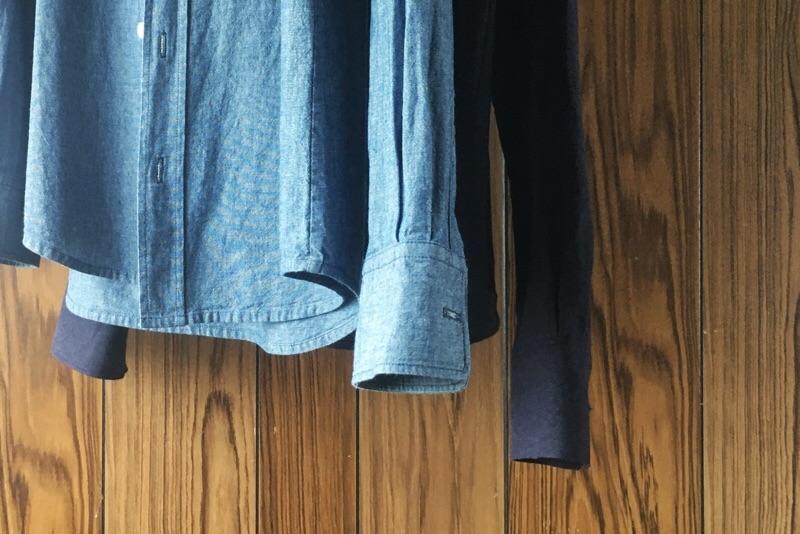 シャツ比較,袖の長さ