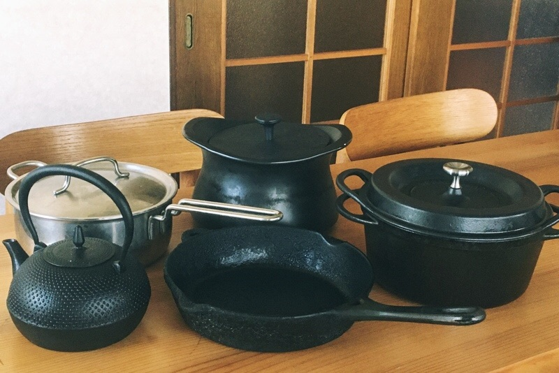 鉄のフライパン,ステンレス鍋,ベストポット,バーミキュラ,南部鉄瓶