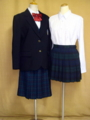 クラーク記念国際高等学校の制服