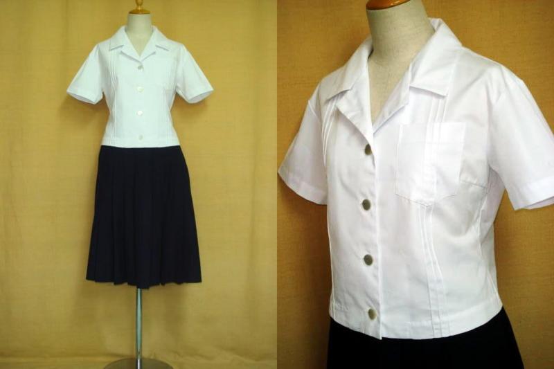 八尾高等学校の制服