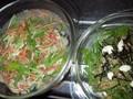 [080511] 水菜サラダ