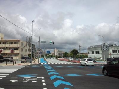 [160810][新しい自転車路開放]
