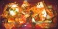[180603][島豆腐にねぎまキムチ]