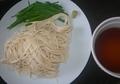 [191107][素麺(常温水実験)]