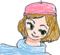[はてなハイカーさん、秋だしベレー帽かぶった子のイラスト欲しい!