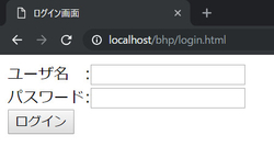 URL入力後