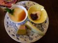 27年9月13日:喫茶【花水実】にてモーニング