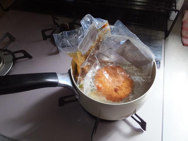 「わんまいる」冷凍食品は煮て作るだけなので簡単。