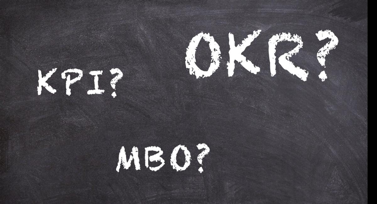 OKR, KPI, MBO