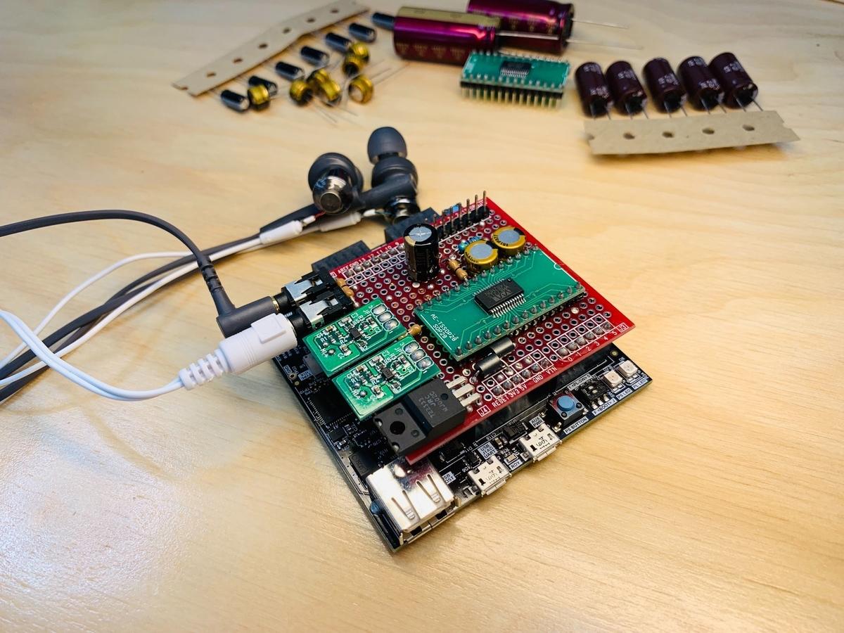 FPGA, イヤホン