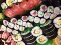 子ども達沢山お寿司をたべましたー