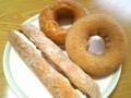 揚げパンドーナツ・ハニーケーキ・シナモンケーキ