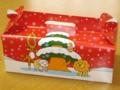クリスマス仕様のミスドの箱
