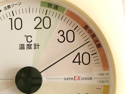 室温36℃