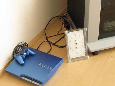 PS3の置き場所 Before