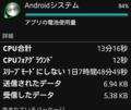 [スマホ]Androidシステムの暴走