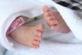 姪っ子の足