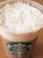 スタバ アイスココア+ホイップクリーム