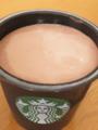 スタバ チョコレートプリン