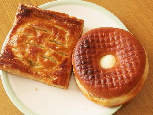 ミスド セイボリーパイ 5種の野菜&チキン/セイボリーサンド ハムチ