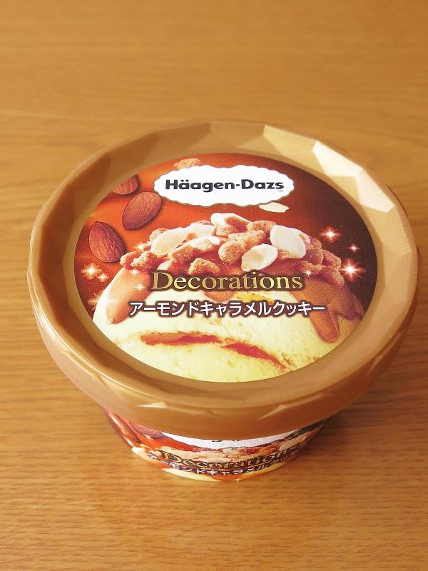 ハーゲンダッツ デコレーションズ アーモンドキャラメルクッキー