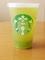 スタバ フローズンティー 香る煎茶×グリーンアップル