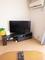 新しいテレビとテレビ台