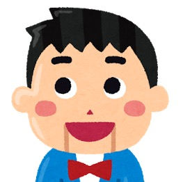 アイコン:腹話術で使われる男の子の人形のイラストです