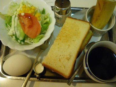 喫茶ジャパン・モーニングセット