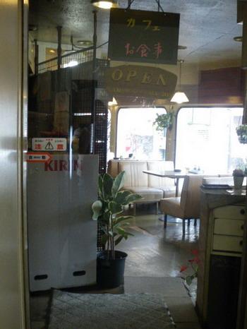 喫茶ロマン・入口