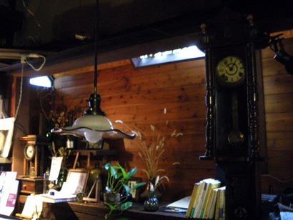照明と時計