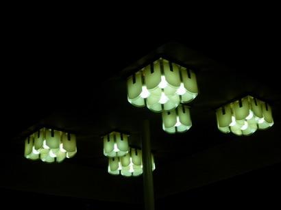 天井の照明