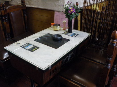 パックマンのゲームテーブル