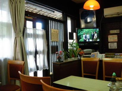 ブラジルコーヒー店内・入り口付近
