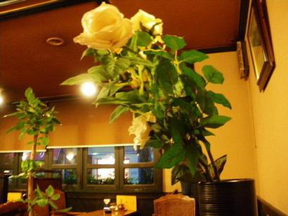 薔薇の造花