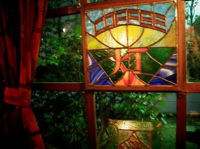 灯ステンドグラス