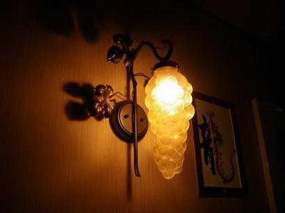葡萄の照明