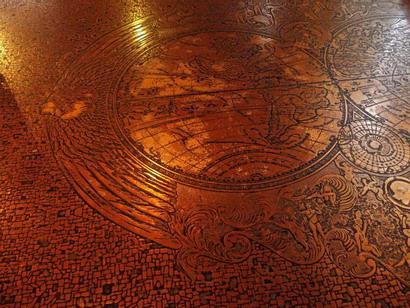 テーブルの模様