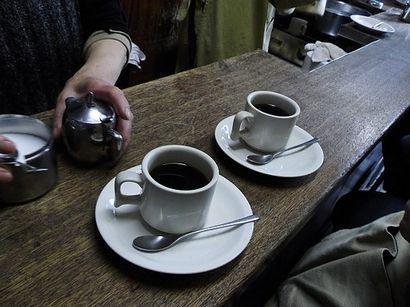 コーヒー 網兼