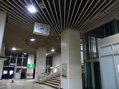 名鉄堀田駅・放射状の装置4