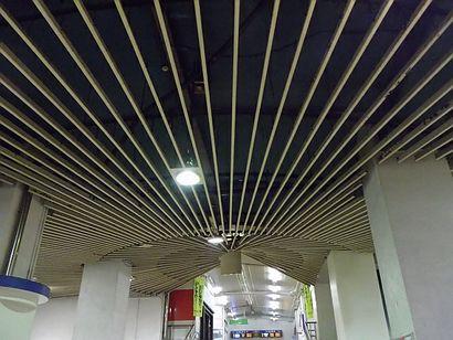 名鉄堀田駅・放射状の装置2