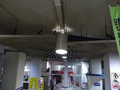 名鉄堀田駅・放射状の装置5