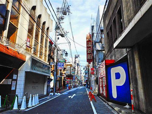 大阪・久左衛門と宗右衛門町10