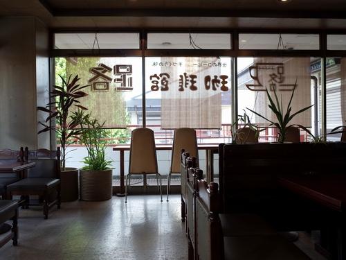 柳瀬川・珈琲館 路1