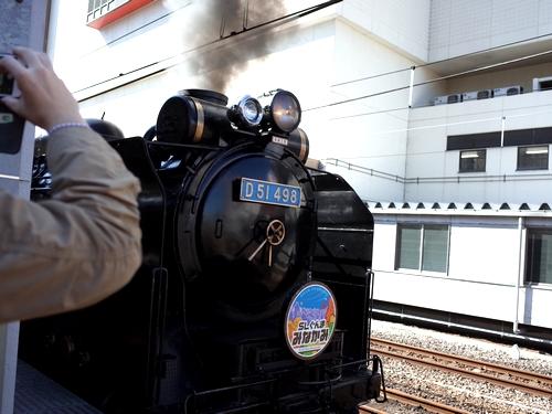 高崎駅・SLぐんまみなかみ5