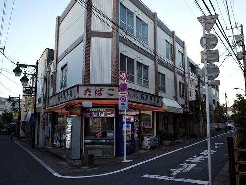 練馬・弁天通り・石黒菓子店