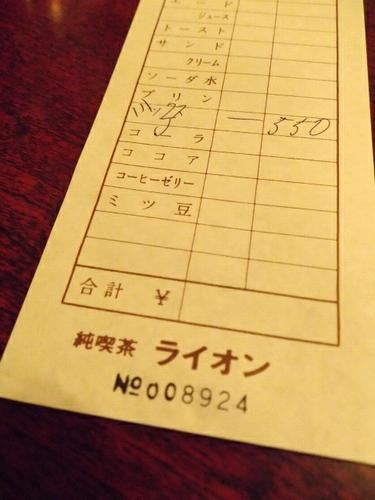 名古屋・栄・コーヒー専門店 ライオン9